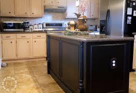 Kitchen Island Electrical Outlet Builder Grade Kitchen Island Upgrade Lost U0026 Found