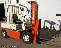 nissan 50 forklift item db2779 sold december 28 vehicle