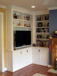 Corner Living Room Cabinet by When And How To Place Your Tv In The Corner Of A Room Cozy