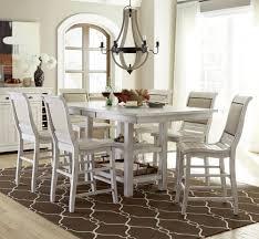 progressive furniture willow dining 7 piece rectangular counter