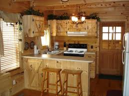 Unfinished Kitchen Island Cabinets Furniture Rustic Kitchen Design With L Shaped Brown Unfinished