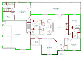Split Level Ranch Floor Plans by Enchanting 50 Rear Living Room House Plans Decorating Design Of