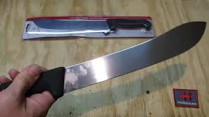 victorinox 10 inch butcher knife youtube