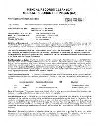 medical lab technician resume sample electronic medical records resume sample gallery photos of medical file clerk sample resume audit templates free inspiration unit clerk resume unit clerk resume unit