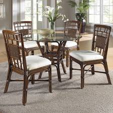 Bamboo Dining Room Furniture by Jofran 733 52 Urban Lodge 6 Piece Round Dining Room Set W Hammary