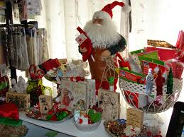 scrappy pink corner craft room decorated for christmas 2014