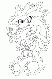 super sonic coloring pages silver the hedgehog coloring pages coloring page sonic the