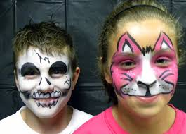 fab5 tips for playing it safe with halloween face paint mrs