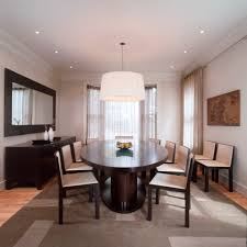 mirrored buffet dining room contemporary with area rug buffet
