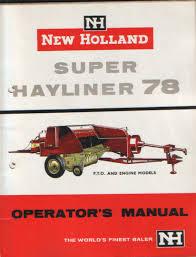 32 new holland 269 hayliner baler manual june 14th spencer