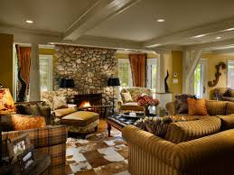 graceful country style living room interior design ideas style