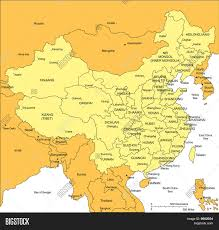 Map Of China Provinces Download Map Of China And Surrounding Countries Major Tourist
