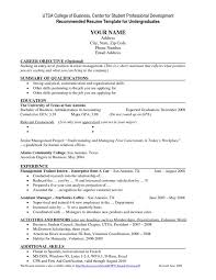 Best College Resumes by Resume Samples For College Students Msbiodieselus Writing Your Cv