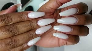 she nail salon full set of long nails