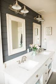 best ideas about farmhouse bathrooms pinterest farm style this bathroom makeover will convince you embrace shiplap