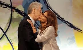 Bacio tra Monti e Marcegaglia