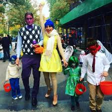Halloween Costumes For Families by Peter Hermann And Mariska Hargitay Family Halloween Costumes