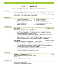Amandine Mallen Paris     Student teaching reflection essay thesis Marked by Teachers Elementary Teacher Resume Examples  Sample Resumes File