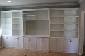 Family Room Wall Unit In White Traditional Los Angeles By - Family room wall units