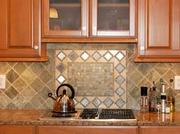 peel and stick mosaic tile modern kitchen with green blue glass