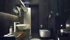 Bathrooms Design Casual Loft Style Living