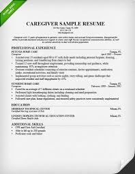 Example For Resume by Nanny Resume Sample U0026 Writing Guide Resume Genius