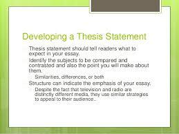 Venn diagram comparison contrast essay