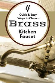 Kitchen Faucet Brass Best 25 Brass Kitchen Faucet Ideas Only On Pinterest Brass