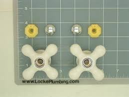 Eljer Bathroom Faucet Eljer V3988bg Cross Handles White Porcelain Per Pair Locke Plumbing