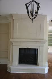 fireplace unfinished isokern fireplace with plaster mantel for