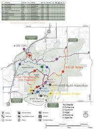 Antelope Canyon Arizona Map by Piestewa Circumference Freedom Trail 302 U2022 Hiking U2022 Arizona
