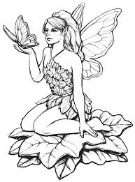 fairy and butterfly myths u0026 legends coloring pages for adults