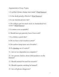 College Essays  College Application Essays   Science essay topics     Argumentative Essay Topics   EssayBasics