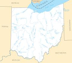 Ohio Kentucky Map by Ohio Map Blank Political Ohio Map With Cities