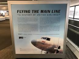 Carrier Route Maps by Cool New United Airlines Museum Exhibit At Sfo Live And Let U0027s Fly