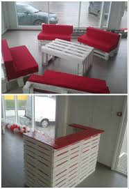 pallet lobby furniture u2022 1001 pallets
