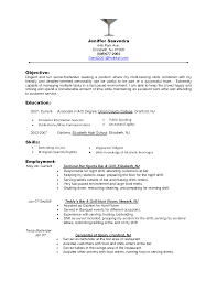 Fast Food Resume Samples by Resume Template For Restaurant Resume For Your Job Application