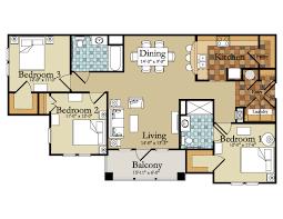 3 bedrooms 25 more 3 bedroom 3d floor plans 8 25 more 3 bedroom