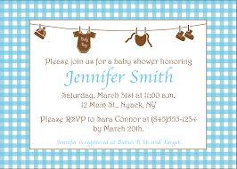 Invitation Cards For Baby Shower Templates Template Example Of Baby Shower Invitation