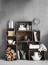 Wooden Crate Bookshelf Diy by 61 Best Knagglig Images On Pinterest Ikea Ideas Ikea Hacks And