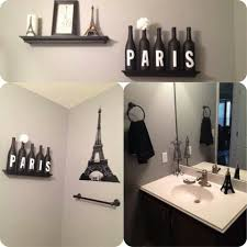 paris themed bathroom decor bathroom decor