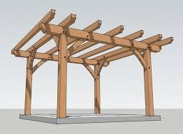 Timber Frame Pergola by How To Build A Pergola Frame Pergola Gazebo Ideas