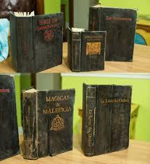 how to old witchcraft books hauntforum steampunk diy