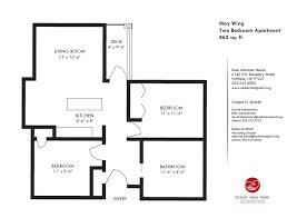 Floor Plan 2 Bedroom Apartment Small Two Bedroom Apartment Floor Plans And Apartment Floor Plans