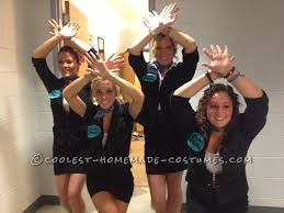 easy all group halloween costume pitch perfect barden