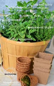 42 best herbal baskets centerpieces and decor images on pinterest