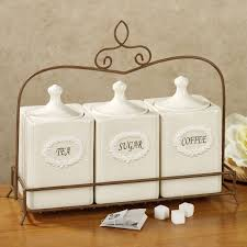 contemporary canister sets kitchen trends also vintage ceramic