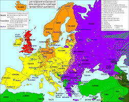Religions Of The World Map by Contemporary Map Of Religions In Europe It Would Be Very