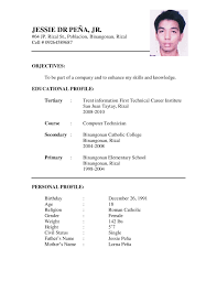 Curriculum Vitae Resume Template The Incredible Curriculum Vitae Resume Format Doc Resume Format Web