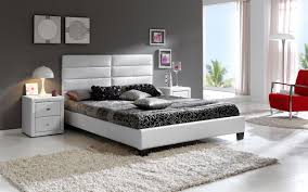 White Modern Bedroom Furniture Set Stylish Black Contemporary Bedroom Sets For White Or Gray Bedrooms